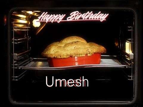 Happy Birthday Cake for Umesh