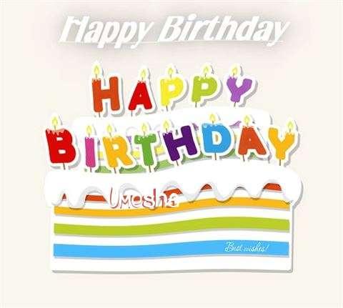 Happy Birthday Wishes for Umesha
