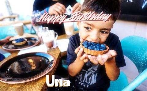 Happy Birthday to You Una