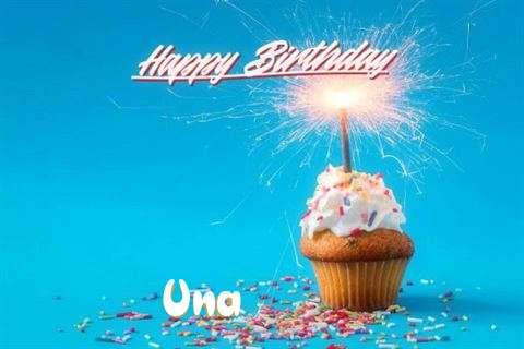 Happy Birthday Cake for Una