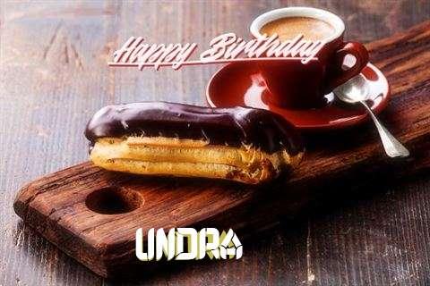 Happy Birthday Wishes for Undra