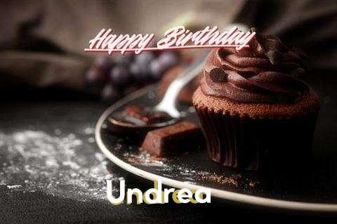 Happy Birthday Cake for Undrea