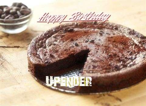 Happy Birthday Upender