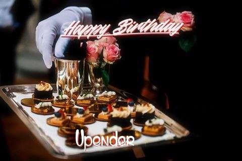 Happy Birthday Cake for Upender