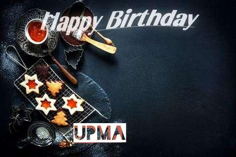 Happy Birthday Upma Cake Image