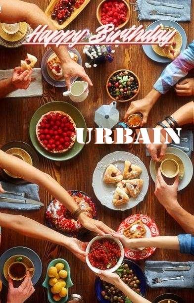 Birthday Images for Urbain