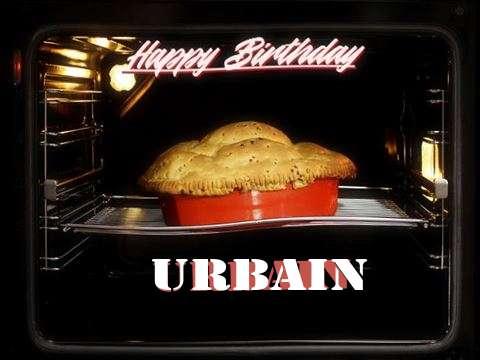 Happy Birthday Cake for Urbain