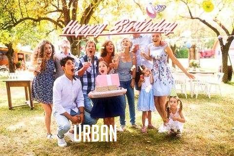 Happy Birthday Urban