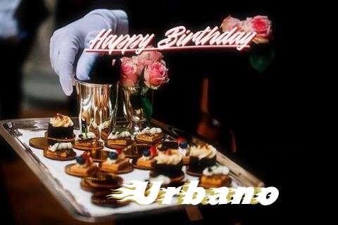 Happy Birthday Wishes for Urbano