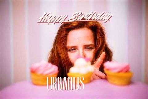 Happy Birthday Wishes for Urbanus