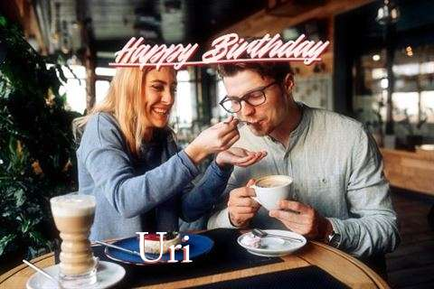 Happy Birthday Uri Cake Image