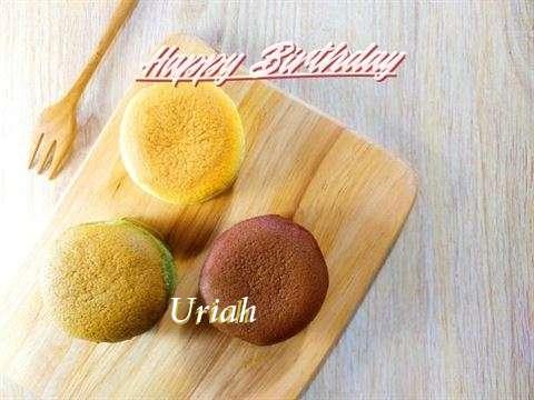 Happy Birthday Uriah