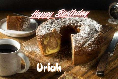 Happy Birthday to You Uriah