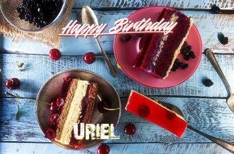 Uriel Birthday Celebration