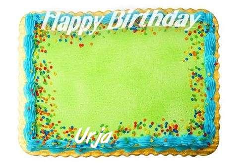 Happy Birthday Urja Cake Image