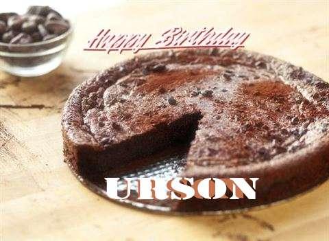 Happy Birthday Cake for Urson