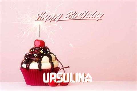 Ursulina Birthday Celebration