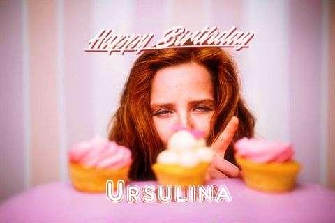 Happy Birthday Wishes for Ursulina