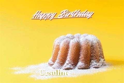 Happy Birthday Ursuline