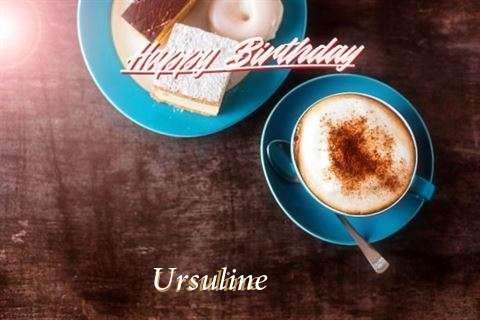Birthday Images for Ursuline