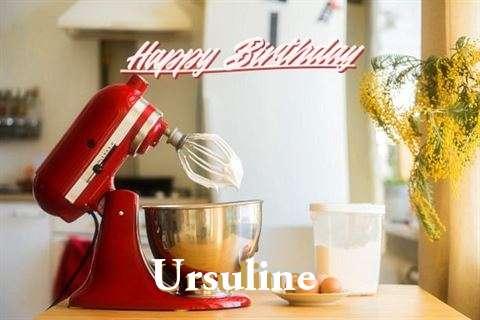 Happy Birthday to You Ursuline