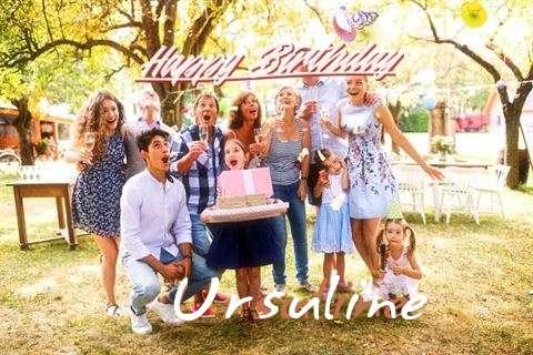 Happy Birthday Cake for Ursuline