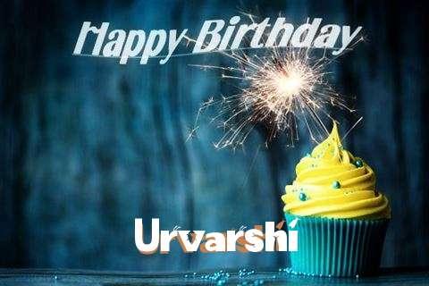 Happy Birthday Urvarshi Cake Image