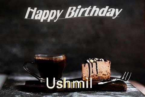 Happy Birthday Wishes for Ushmil