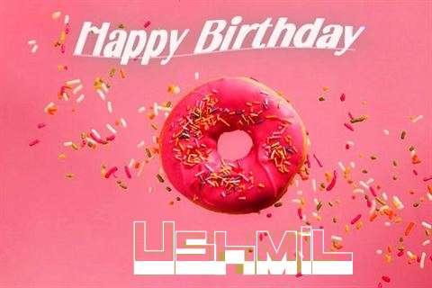 Happy Birthday Cake for Ushmil