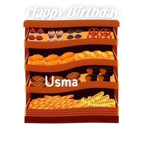 Happy Birthday Cake for Usma