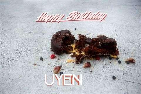 Happy Birthday Uyen