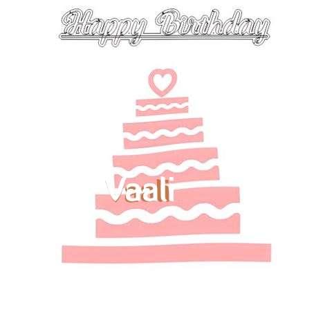 Happy Birthday Vaali Cake Image