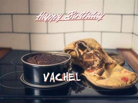 Happy Birthday Vachel Cake Image
