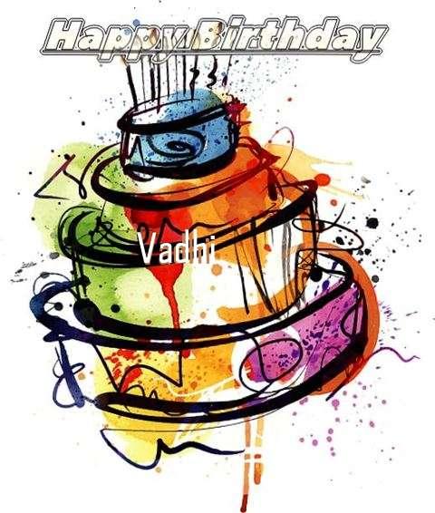 Happy Birthday Vadhi