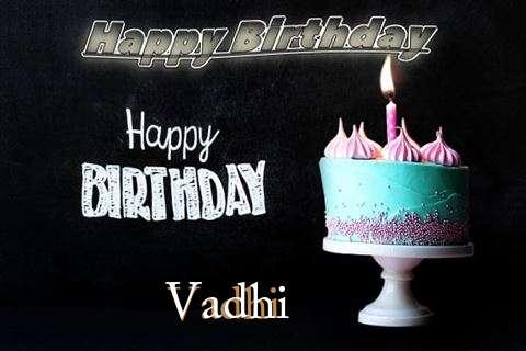Happy Birthday Cake for Vadhi