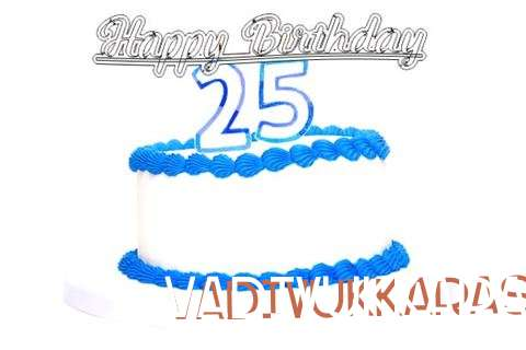 Happy Birthday Vadivukkarasi Cake Image