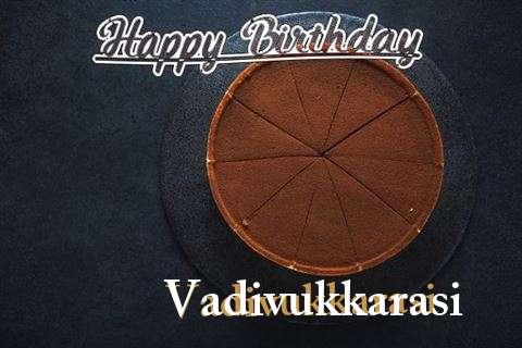 Happy Birthday to You Vadivukkarasi
