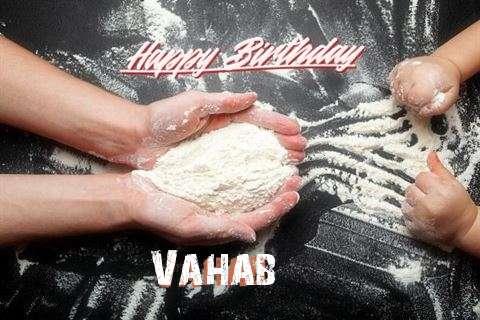 Happy Birthday Vahab Cake Image