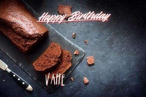 Happy Birthday Vahe Cake Image