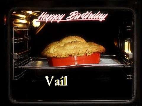 Happy Birthday Cake for Vail