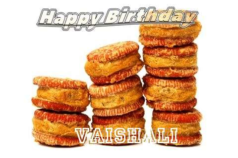 Happy Birthday Cake for Vaishali
