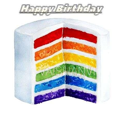 Happy Birthday Vaishanvi Cake Image