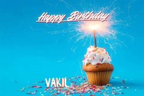 Happy Birthday Cake for Vakil