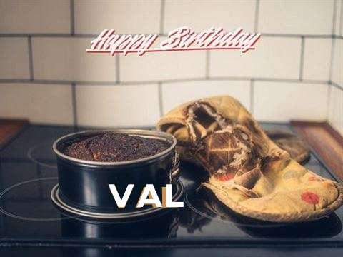 Happy Birthday Val Cake Image
