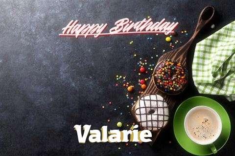 Happy Birthday Cake for Valarie