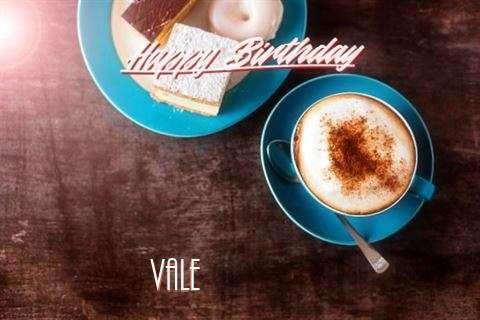 Happy Birthday to You Vale