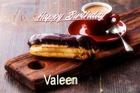 Happy Birthday Wishes for Valeen