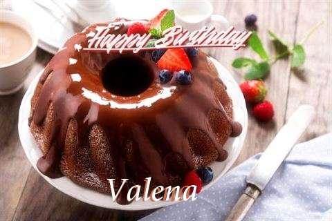 Happy Birthday Wishes for Valena