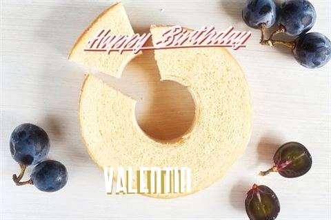 Happy Birthday Wishes for Valentin