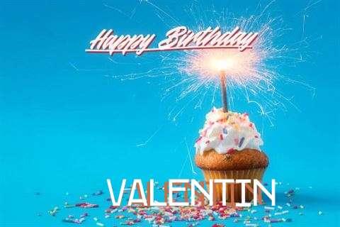 Happy Birthday Cake for Valentin